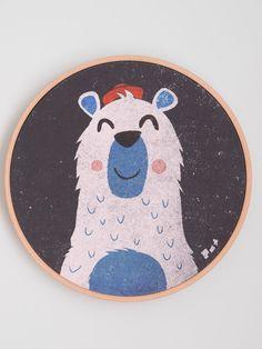 Perfect Eisb r hochwertiger Druck Kinderzimmer Wanddeko Bilder Kinderzimmer Bilder Kinderzimmer Wanddeko https