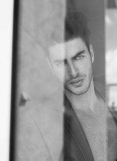 Gui Fedrizzi by Emmanuel Sanchez-Monsalve for Male Model Scene #photography #bwphotography