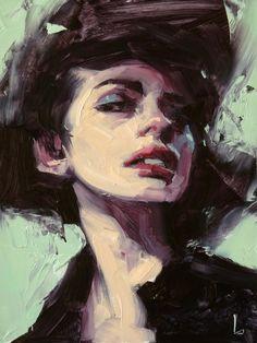 "Daily Paintworks - ""Dreamless"" - Original Fine Art for Sale - © John Larriva Figure Painting, Painting & Drawing, Pinterest Arte, John Larriva, Arte Van Gogh, Oil Portrait, Female Portrait, Guache, Pretty Art"