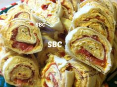Sweet Red Pepper & Prosciutto Pinwheels ✿✿✿♥♥♥✿✿✿♥♥♥✿✿✿♥♥♥✿✿✿♥♥♥✿✿✿♥♥♥✿✿✿♥♥♥ (✿◠‿◠) Be sure to FRIEND ME on Facebook, I'm always posting Awesome stuff daily! https://www.facebook.com/amber.mccann.35 (っ◕‿◕)っ