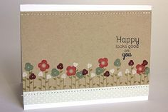Happy Looks Good On You Card by Heather Nichols for Papertrey Ink (March 2014)