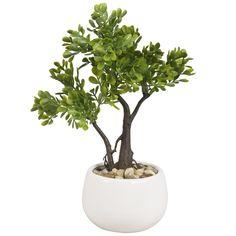 2 arbustos artificiales en maceta | Maisons du Monde