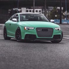 Audi RS5 and in my favourite colour