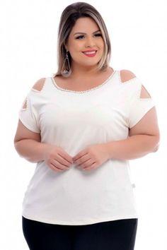 Blusa Plus Size Paula Color Plus Size Summer Fashion, Plus Size Fashion For Women, Fashion Women, Plus Size Tips, Plus Size Model, Floral Plus Size Dresses, Plus Size Outfits, Swimsuit Pattern, Stylish Outfits