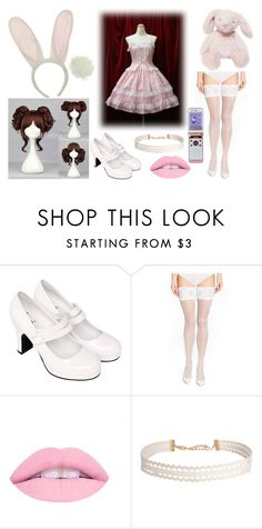 """""""(Taken) OC For Adoption"""" by arithegeek11 ❤ liked on Polyvore featuring Wolford, Humble Chic and Hello Kitty"""