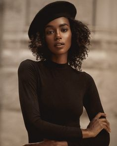 Paige Gary Fashion Portriat - By Photographer Glenford Nuñez Photography || Beret hat. Beret. Natural hair. Foto Portrait, Portrait Photography, Woman Portrait, Digital Photography, Curly Hair Styles, Natural Hair Styles, Female Character Inspiration, Black Girl Aesthetic, Korean Skincare