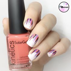 """Ich habe mal wieder etwas für mich Neues ausprobiert und mich das erste Mal an sogenannten """"Waterfall-Nails"""" versucht. Sie entstehen grundsätzlich in dem man auf eine Basis-Farbe dünne …"""