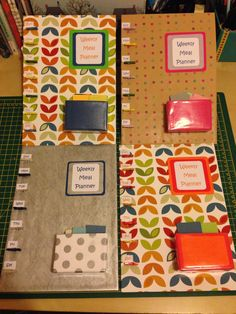 Meal planners for my Slimming World club £7.50 each.