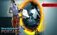 Portal 2 Gameplay Walkthrough Chapter 6:The Fall (X360/PC/PS3)
