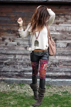 Inspirational Boho Style Outfits  The taste of Petrol and Porcelain (3)