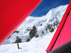 View from Our Tent, Illimani High Camp