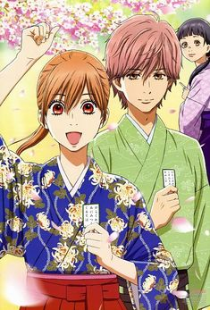 Tags: Anime, Scan, Character Request, Official Art, Chihayafuru