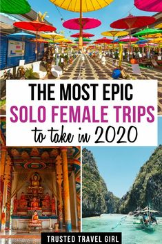 , The Most Epic Solo Female Trips to take in The Best Solo Female Travel Des. , The Most Epic Solo Female Trips to take in The Best Solo Female Travel Destinations in My favorite places for women to travel alone. Solo Travel Tips, Ways To Travel, Best Places To Travel, Wedding Destination, Destination Voyage, Voyager Seul, Us Travel Destinations, Road Trip, Travel Alone