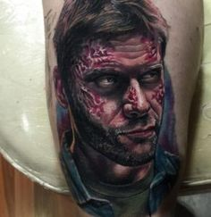 41 Supernatural tattoo designs ideas with meaning collection for men and women from goose tattoo. Supernatural Bloopers, Supernatural Tumblr, Supernatural Tattoo, Supernatural Imagines, Supernatural Wallpaper, Tattoo Designs And Meanings, View Photos, Piercings, Fandoms