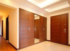 Closet Door Design Ideas and Options: Pictures, Tips & Wardrobe Door Designs, Wardrobe Design Bedroom, Bedroom Furniture Design, Closet Designs, Wardrobe Closet, Closet Bedroom, Wardrobe Sale, White Wardrobe, Mirrored Wardrobe