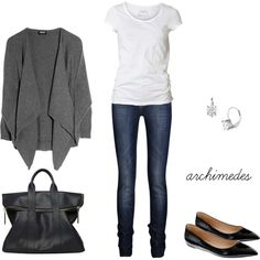 """""""Classic Casual Saturday"""" by archimedes16 on Polyvore"""