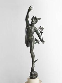 Giambologna, originally Jean Boulogne | Flying Mercury, n.d. | Bronze | Musee du Louvre