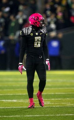 Pink & black - another traditional variation of Oregon Ducks. (The best part is the pink; it's for a great cause.}