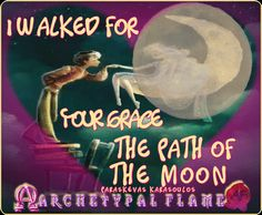 Archetypal Flame - The moon path #fos #fullmoon #grace #path
