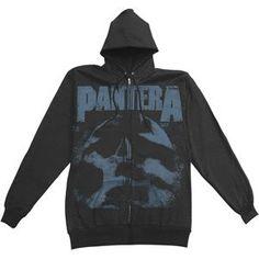 Pantera - Hooded Sweatshirts - Zippered Band $59.95