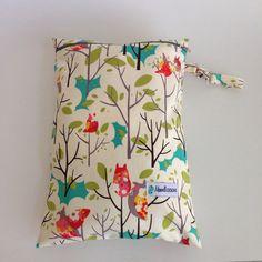 Hoot Owls Wet Bag LE | Maxwell Designs #wetbag #wetdrybag #clothdiapers