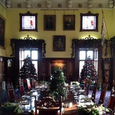 Glamis castle Christmas