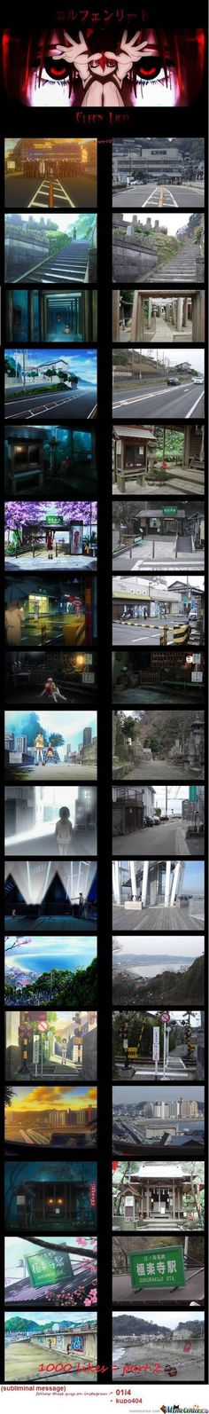 Anime Vs. Real Life Part 1 (Elfen Lied)