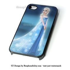 Disney Frozen Queen Elsa iPhone 4 4S 5 5S 5C 6 6 Plus Case , iPod 4 5 – Resphonebility