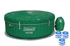 Coleman Lay-Z Spa Inflatable Hot Tub with Six Filter Cartridges Coleman http://www.amazon.com/dp/B00NIX4ZFW/ref=cm_sw_r_pi_dp_sXtTwb1RMKJD8