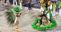 Império Serrano 2012 - Casal de Mestre Sala e Porta Bandeira