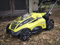 The Ryobi Brushless Mower comes with a AH battery at a compelling price point, but how does it compare to some of the more expensive models? Ryobi Battery, Ryobi Tools, Price Point, Lawn Care, T Rex, Power Tools, Lawn Mower, Landscaping, Guns