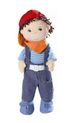 Good Buddy Graham, cloth boy's doll that looks like a boy. great site for dolls for boys & POC.