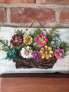 Wood framed painted pinecone flowers etsy 26 diy christmas pine cone crafts to add extra charm to holidays Pine Cone Art, Pine Cone Crafts, Pine Cones, Crafts To Make, Home Crafts, Painted Pinecones, Wood Art, Wood Wood, Painted Wood