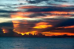 How the Caribbean says 'good night'.