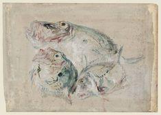 Joseph Mallord William Turner, 'Study of Fish' c.1844-5