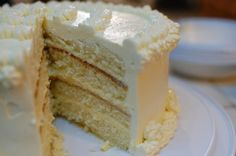 Lemon Lover's Layered Lemon Cake - don;'t remember if the cake was good, but when I make lemon curd I uses a different recipe posted on my Pinterest.