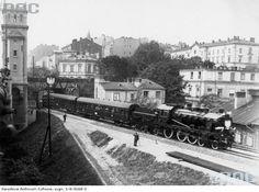 Inauguracyjny przejazd linią średnicową 1926 San Antonio, Old Photos, Paris Skyline, Train, Architecture, City, Ul, Nostalgia, Lost