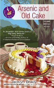 NEW! Arsenic and Old Cake, 3rd in the Piece of Cake Mystery Series by Jacklyn Brady. Released November 6th.
