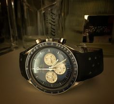 Omega Speedmaster Professional Gemini IV dial
