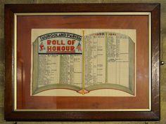Barnsley War Memorials Project: Thurgoland, WW2 Roll of Honour, Holy Trinity Church