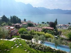Iseo Lake. Private villa with olive tree grove. From an arduous slope to marvelous terraces.