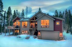 House vacation rental in Breckenridge from VRBO.com! #vacation #rental #travel #vrbo