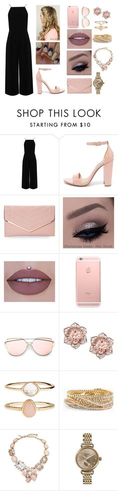 """Untitled #98"" by liac6950 ❤ liked on Polyvore featuring Warehouse, Steve Madden, Sasha, Accessorize, Torrid, Oscar de la Renta and Shinola"
