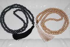 Long Tassel Necklaces are made of wood beads in elegant combination of thread tassel. Necklace is completely handmade and unique! Tassel Size - 9cm Wood Beads Size- 8mm Longer Necklace Size - 34 inches Love it? Click on Add item to favorites If you like the product!!! Please pin it in