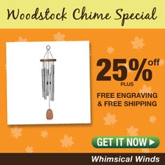 Woodstock Percussion 25 Inch Chimes Of Bali Wind Chime Percussion, Woodstock, Wind Chimes, Whimsical, Free