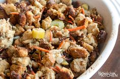 Homemade Stuffing Recipe - how to make stuffing for turkey. This is my family's secret stuffing recipe. It's a classic at Thanksgiving, Christmas and Easter.