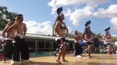 Danseurs polynésiens à la Foire de Bourail - Nouvelle-Calédonie