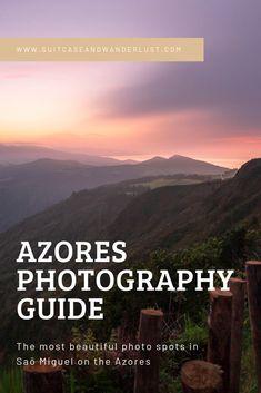 Fotostandorte in Saõ Miguel: Meine besten Azoren-Fotostandorte - Azores - Life Pinit Photography Guide, Amazing Photography, Travel Photography, Travel Pictures, Travel Photos, New Travel, Travel Tips, Travel Europe, Travel Guides
