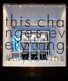 Calvin Klein windows by StudioXAG, London & Milan » Retail Design Blog
