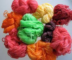 Dye your own Yarn with Kool Aid Tutorial